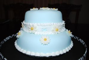 Daisy Cake - Finished - 3 by BPHaines