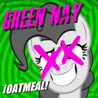 Green Nay Oatmeal cover (Updated) by Stratolicious