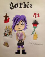 Gothic style Yumi by DarkRoseDiamond123