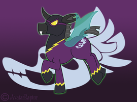MLP:FIM: A Shadowbolt in the making by AvatarRaptor