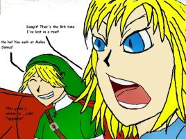 Link better than Samus at SSBM by Sora-Oathkeeper
