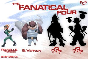 The Fanatical Four by Robaato