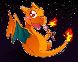 Pokemon: Charizard by jiggly