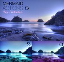 180114 - Mermaid actions by EliseEnchanted