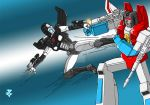 Firewall VS. Starscream by JP-V