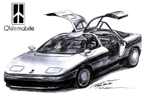 Oldsmobile Incas Concept by Giugiaro by toyonda