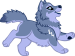 Wuffies - Storm Dancer by Goldenwolf