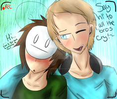 Pewdiecry-Say Hi To The Bros by Anglepenguins12
