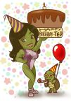 Happy Birthday Ted - Chibi She Hulk by Didi-Esmeralda
