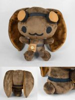 The Engineer - Steampunk Critter Plush by SewDesuNe