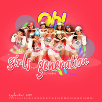 Oh Girls Generation by nadinecreation