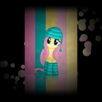 Fluttershy Android Wallpaper by Rubez2525