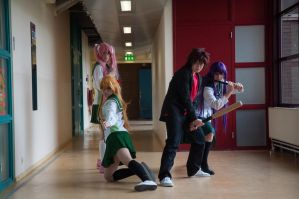Highschool of the Dead 05 by IlunaNeko