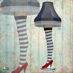 Wicked Witch Leg Lamp by Just-A-Little-Knotty