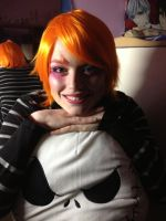 Madhatter girl's makeup by Owlnuny