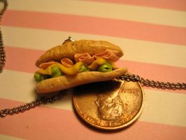 miniature sub sandwich by AlliesMinis