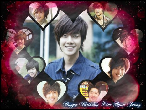 Happy Birthday Kim Hyun Joong Oppa!!!~ by crystalSHINee4evr