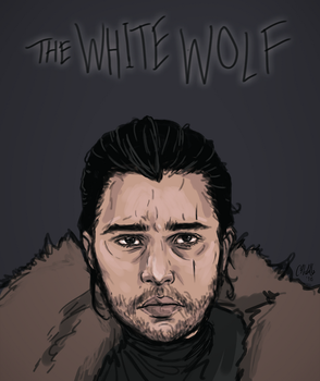The White Wolf by chaffyy