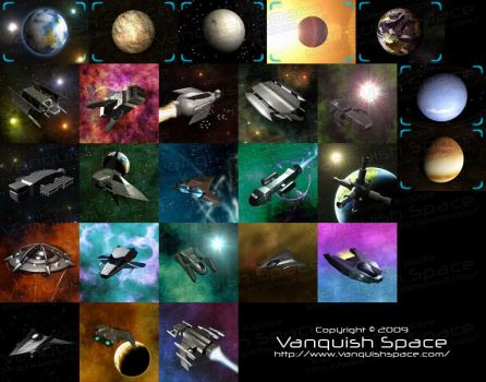 Vanquish Space - Unit Design by Jetrunner
