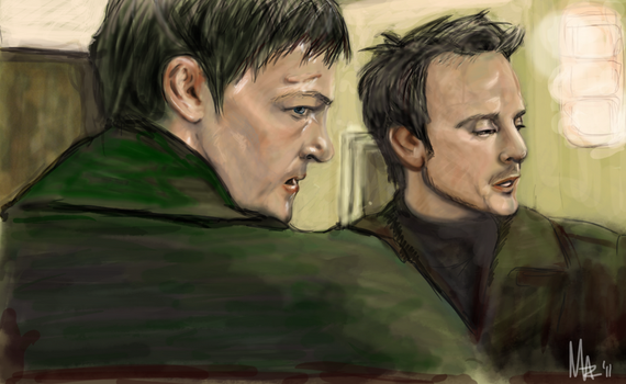 The Boondock Saints by sleepinggiants