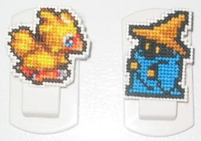 Final Fantasy Magnets - 1 by crafty-manx