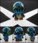 Cold Fire Munny Detail by InWineThereIsTruth