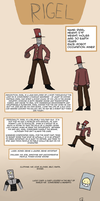 Galactic Smackdown: Rigel Reference Sheet by RoboSquid