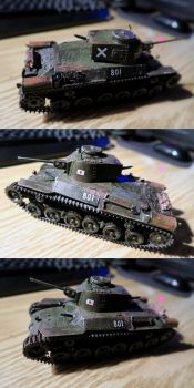 Type 97 - Japanese Medium Tank (Late Version) by zmoores