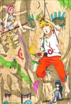 .:Team 7:Paint.the.Hokage:. by liliacee