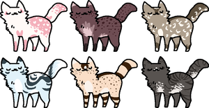 Cat Batch 10 [CLOSED] by FlaaffysTaffyAdopts