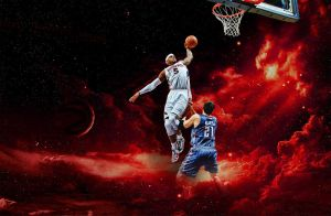 Josh Smith Dunk Wallpaper by rhurst