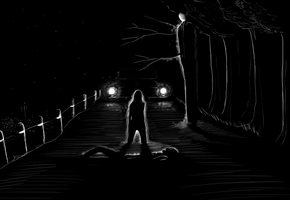 slender sketch by Caindra