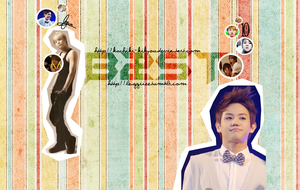 Yoseob layout by kuchiki-kikyou