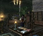 Rare Book Store in Winterhold by Lesliewifeofbath