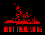 Don't Tread On Us by Domain-of-the-Public