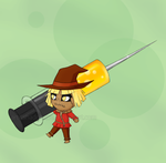 Itty Bitty Scarecrow by ShadOBabe