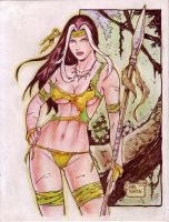 SAVAGE LAND ROGUE art by RODEL MARTIN (03262014) by rodelsm21