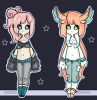 Girl adopts -Taken- by Voodoo-Elf
