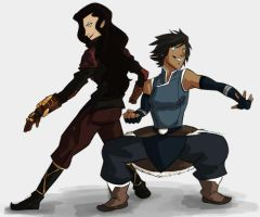 Korrasami | Dream team by Wisperr