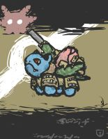 Quick and Dirty Tactical Ivysaur by Yoblicnep