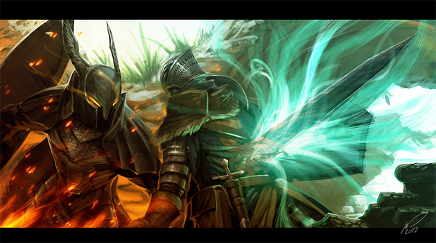 ::Dark Souls:: by sangheili117