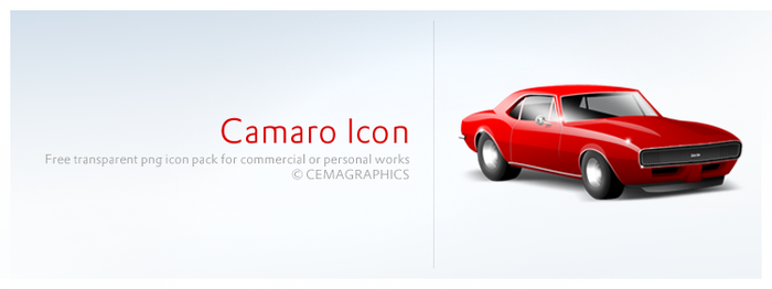 Camaro Icon by cemagraphics