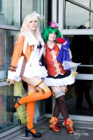 Sheryl and Ranka Before Stage by Sweet-Empathy
