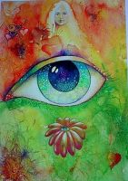 EYE OF LOVE -THE FLOWERING by Eyeart