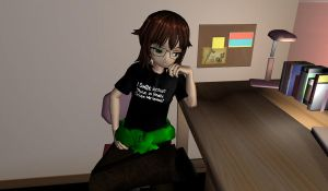 :MMD NC: Lacey by TeapotTritium