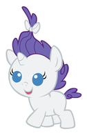 Baby Rarity by MarianHawke