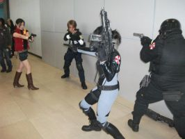 Resident Evil Battle by Avereal