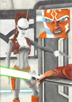 Aurra Sing - Ahsoka Final by TolZsolt