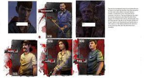 Heroes of The Walking Dead video game by Wolf-panther