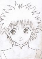 Killua Zoldyck by em-cash666